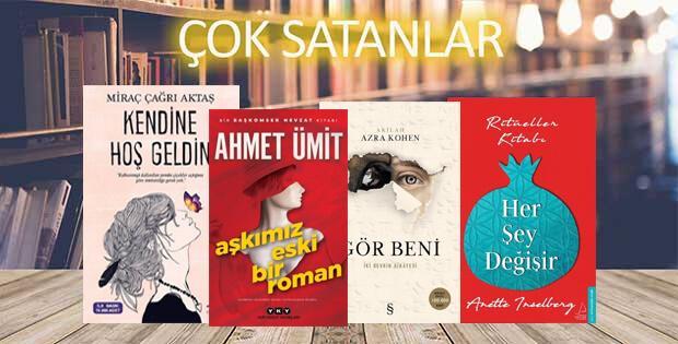 Çok satan kitaplar - 4 Ekim 2019