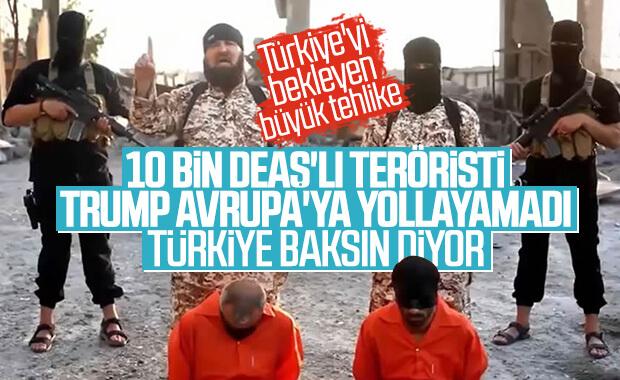 ABD, DEAŞ'lı teröristlerden Türkiye'yi sorumlu tutacak