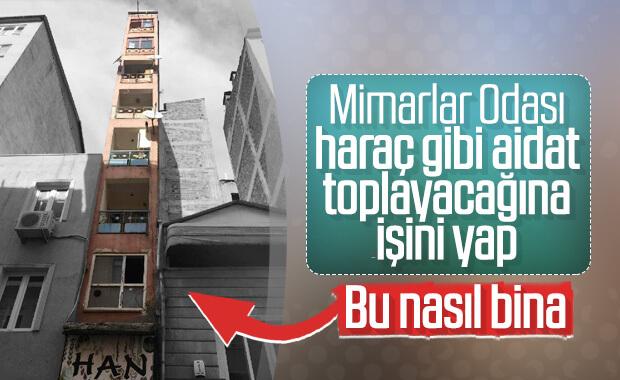 İzmit'te mimarisiyle şaşırtan bina