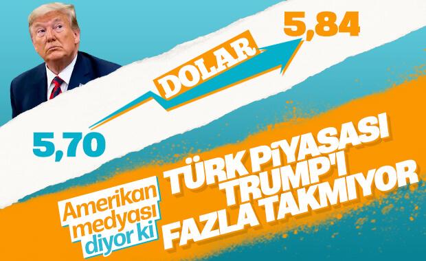 Trump'ın küstah tehditleri Türk ekonomisini etkilemedi