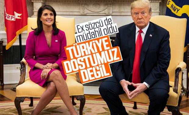 Nikki Haley'den Türkiye karşıtı paylaşımlar