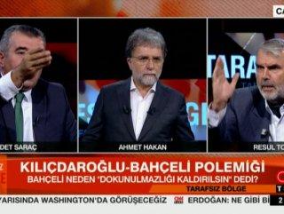 CNN Türk canlı yayınında birbirlerine bela okudular #1