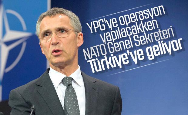 NATO sekreteri Türkiye'ye gelecek