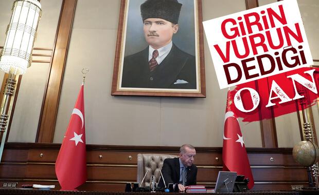 Erdoğan'ın operasyon emrini verdiği o an