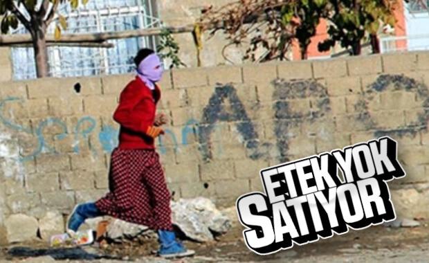 YPG'liler etekleri giydi