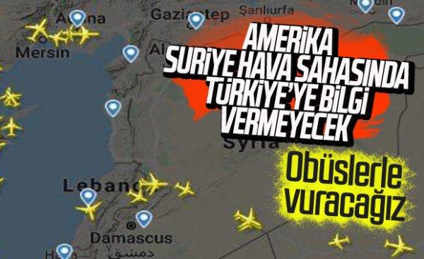 TSK, Fırat'ın doğusunda YPG noktalarını işaretledi