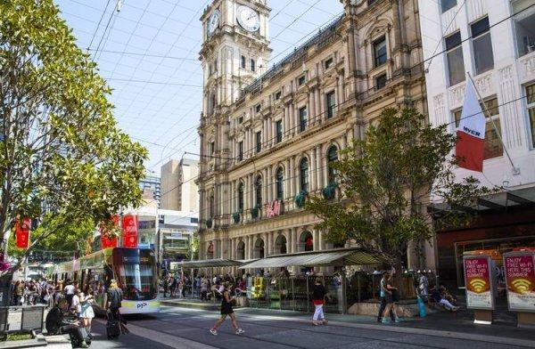 Avustralya'nın en işlek caddesinde sigara yasağı