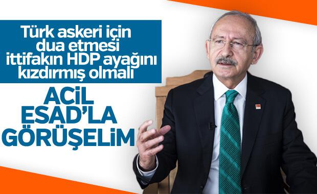 Kılıçdaroğlu: Türkiye, Şam yönetimi ile görüşmeli