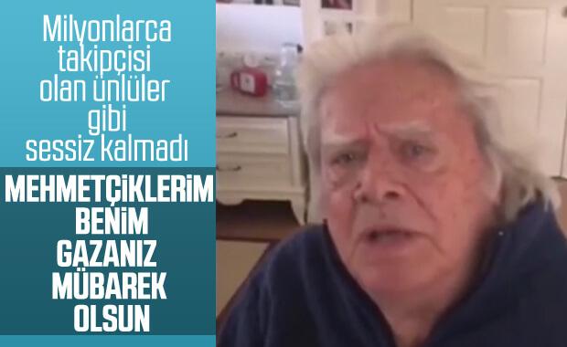 Cüneyt Arkın'dan Barış Pınarı Harekatı'na destek videosu