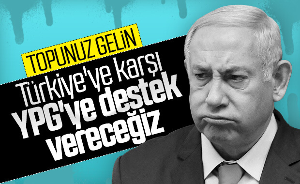 Netanyahu da Türkiye'yi kınadı