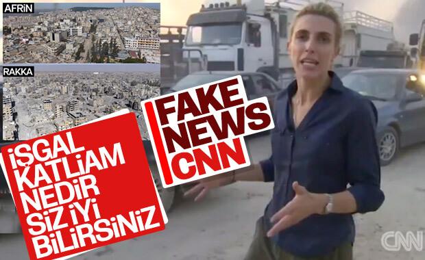 CNN, Türkiye'ye karşı yalan haber servis etmeye başladı