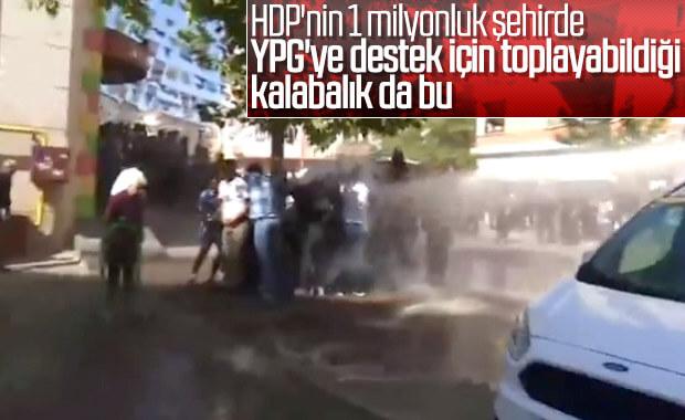 Diyarbakır'da Barış Pınarı Harekatı protesto edildi