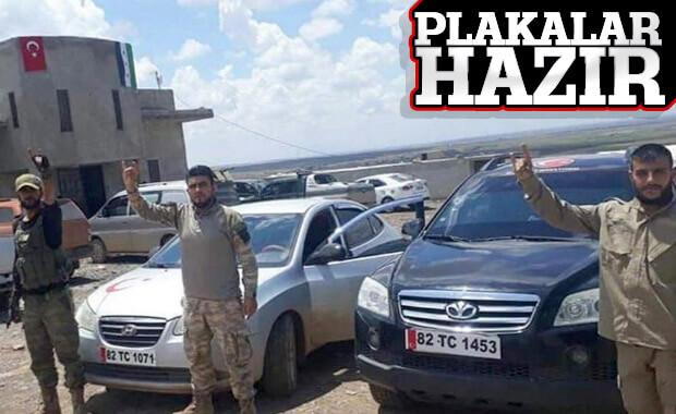 Suriye Milli Ordusu'nun araçları da Barış Pınarı Harekatı için hazır