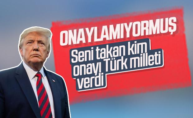 Trump: Türkiye'nin operasyonlarını onaylamıyoruz