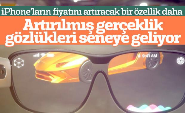 Apple, akıllı gözlüklerini gelecek yıl piyasaya sürecek