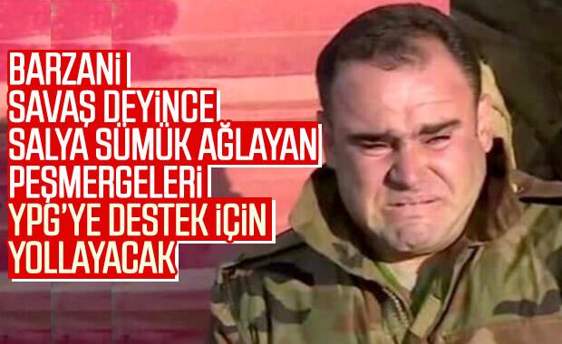 Barzani, peşmergelerini YPG'ye yollayacakmış