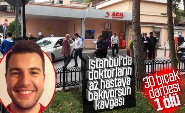 İstanbul'da bir doktor meslektaşını 30 yerinden bıçakladı