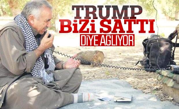 PKK'nın büyükbaşları Trump'a kızıyor