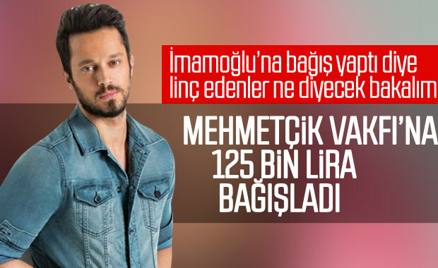 Murat Boz'dan Mehmetçik Vakfı'na bağış