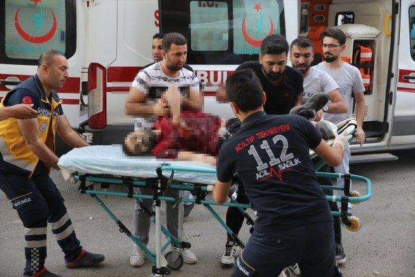 YPG'li teröristler Nusaybin'de sivilleri vurdu
