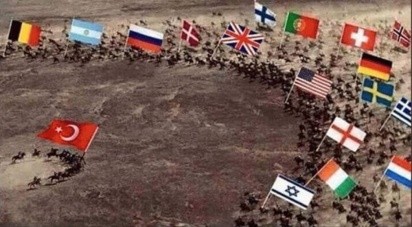 Türkiye'nin durumunu özetleyen fotoğraf