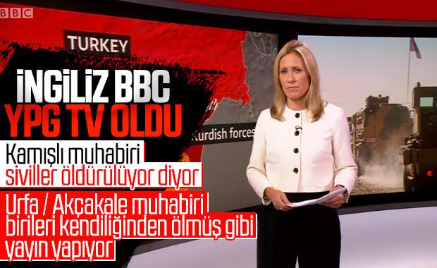 BBC, YPG'li teröristlerin sözcülüğünü yapıyor
