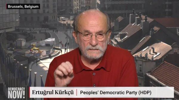 Ertuğrul Kürkçü Türkiye'yi dünyaya işgalci olarak anlattı