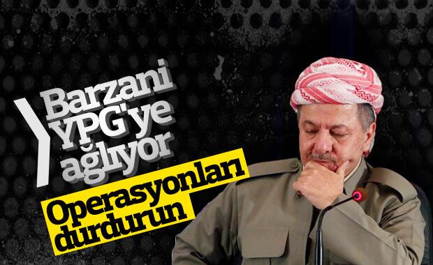 Mesut Barzani, YPG'liler ölmesin diyor