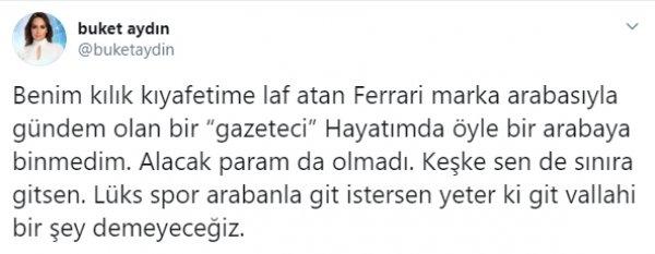 Buket Aydın'la Fatih Altaylı arasında tartışma çıktı