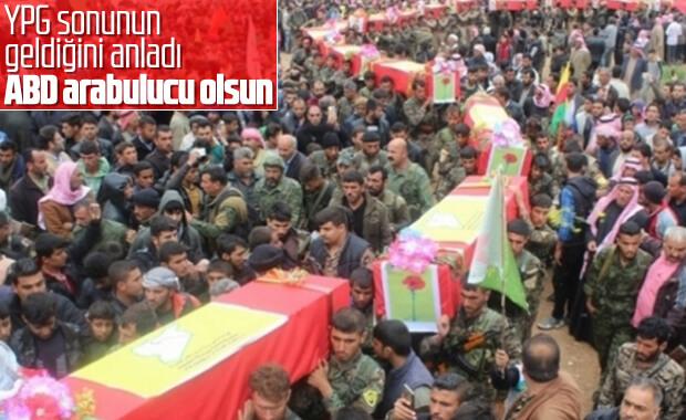 YPG: ABD bizi Türkiye ile barıştırsın