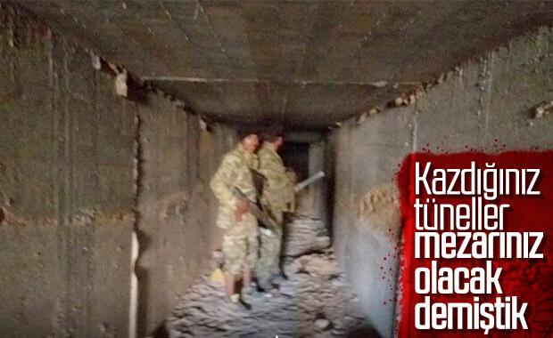 Tel Abyad-Resulayn arasında 90 km'lik tünel