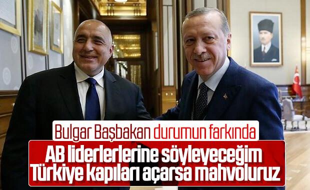 Borisov: AB Türkiye'ye saldırgan tavrını bıraksın