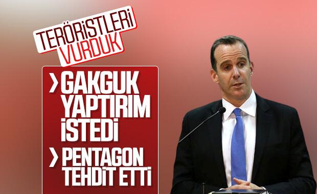 Türkiye'yi Pentagon tehdit etti, McGurk yaptırım istedi