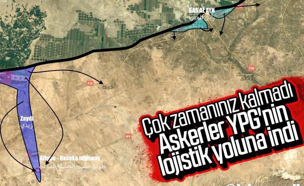 Suriye Milli Ordusu askerleri stratejik kara yoluna ulaştı