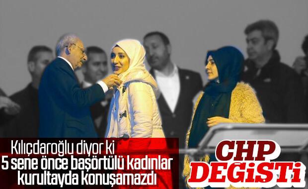 Kemal Kılıçdaroğlu'nun başörtüsü söylemleri devam ediyor