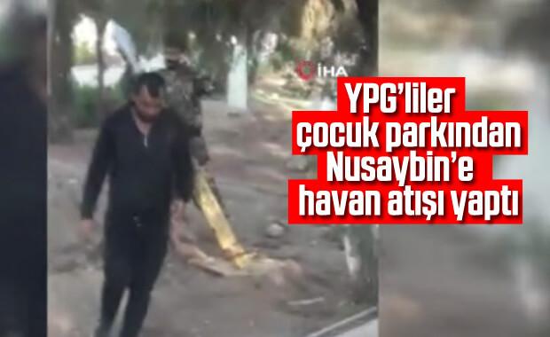 YPG/PKK'lı teröristler Nusaybin'e parktan havan topu attı