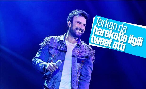 Tarkan'dan Barış Pınarı Harekatı tweet'i