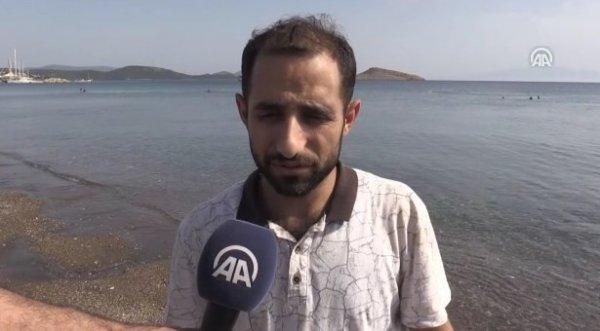 Bodrum'da yaşayan Suriyelilerden operasyona destek