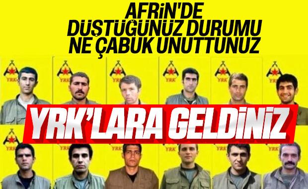 YPG'ye YRK desteği