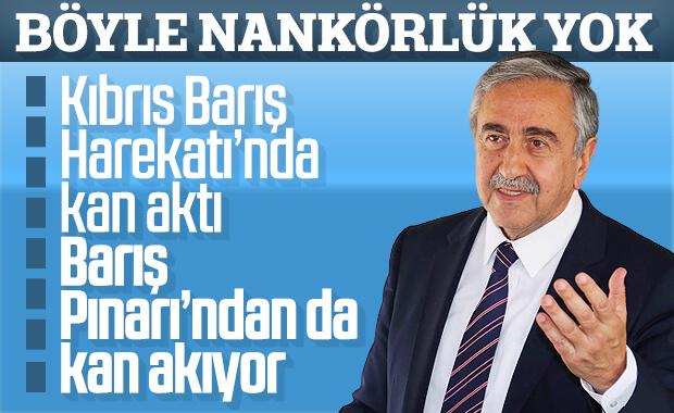 KKTC Cumhurbaşkanı: Barış Pınarı'nda akan su değil kandır