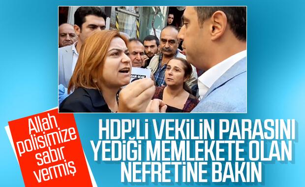 HDP'li Gülistan Koçyiğit'in nefret kustuğu video