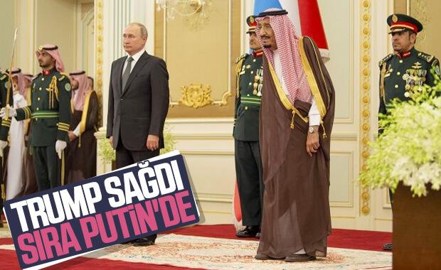 Putin, Suudi Arabistan'da