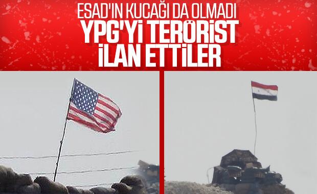 Suriye, YPG'lileri terörist ilan etti
