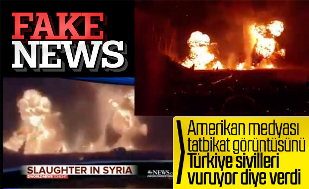 ABD medyası Amerika'da yaşanan olayı Suriye gibi gösteriyor