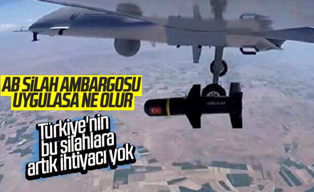 Alman dergisi: AB'nin silah ambargosu boşuna