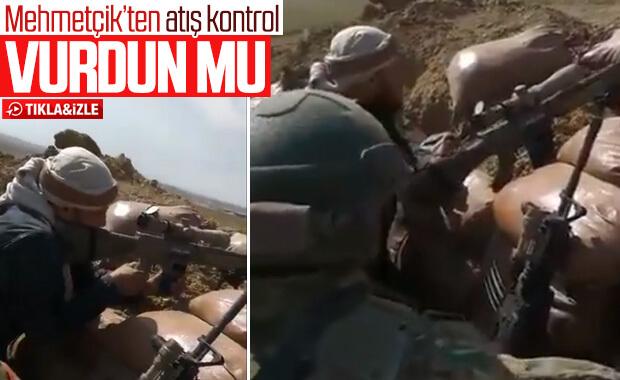 Türk askerinden SMO askerine atış eğitimi