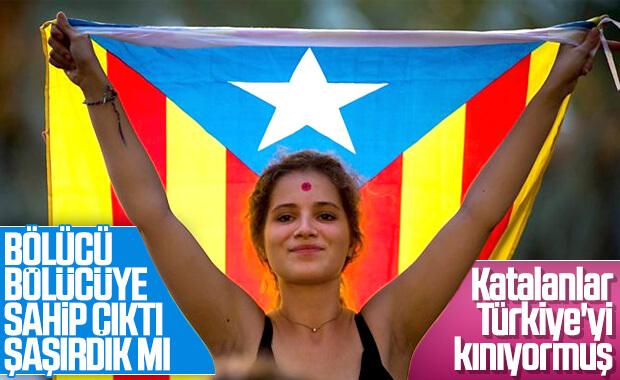 Katalanlar, YPG'lilere destek verdi