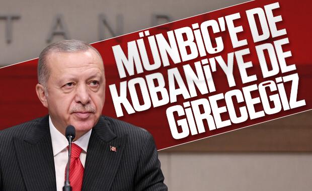 Erdoğan, harekat kararlılığını vurguladı