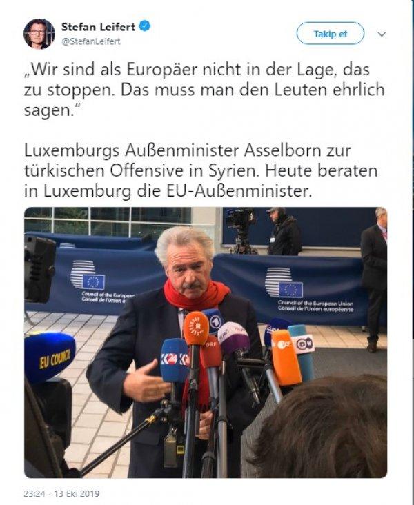 Lüksemburglu bakan AB'nin güçsüzlüğünü itiraf etti