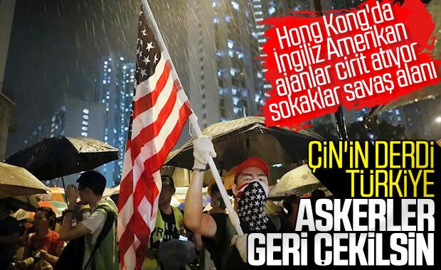 Çin'den Türkiye'ye 'harekatı durdurun' çağrısı